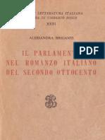 A. L. - Il parlamento nel romanzo italiano del secondo ottocento