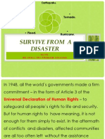 Survive Natural Disasters