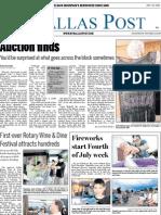 The Dallas Post 07-07-2013