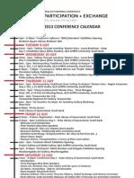jmga conference timeline