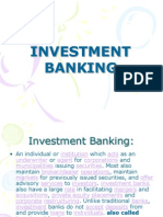 29 Investment Banking