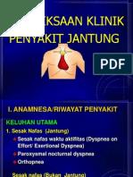 b. Pemeriksaan Klinik