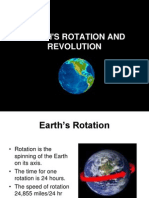 Earths Rotation and Revolution (1)
