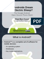 The Android Open Source phone stack