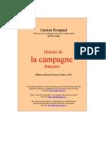 Roupnel, Histoire de la campagne française (1932)