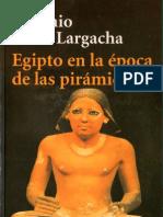 Lagarcha Egipto en La Epoca de Las Piramides