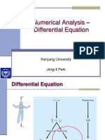 Numerical Analysis Differential Equations