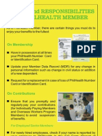Philhealth Duties Responsibilities