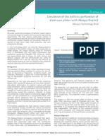 Aero Ballistic Perforation Alumnium Plates 12