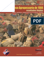 II Censo Agropecuario 1984