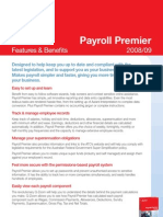 Reckon Payroll Premier 0809