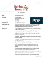 Internal Sales Executive Job Description