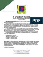 Il Brasile in Musica seminario