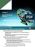 Explicit Dynamics Chapter 6 Explicit Meshing
