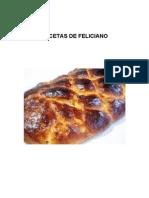 Recetas de Feliciano