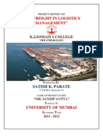 Sea Freight in Logistics Management