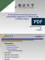 A Compressive Sensing and Swarm Optimization Algorithm For