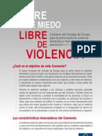 PlaquetteConventionViolence Spanish
