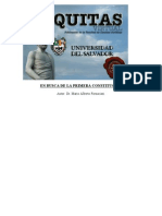 Fornaciari - En Busca de La Primera ConstituciOn