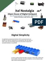 Digital Nostalgia Exhibits Kgk