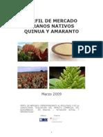 Perfil de Mercado CB10 - Quinua y Amaranto