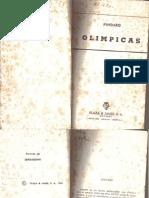 Pindaro Olimpicas completas