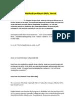 The Best Study Methods and Study Skills