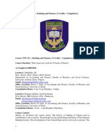 Banking and Finance Courseware 112