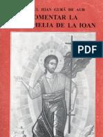 Sf Ioan Gura de Aur_Comentar La Evanghelia de La Ioan