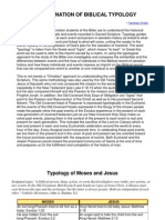 Typology of Moses and Jesus