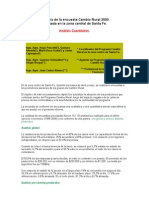 Análisis de la encuesta Cambio Rural 2000