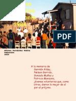 Trabajos Poblacionales San Antonio 1984. Alfonso Hernandez