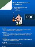 Toxicomanias y Acu