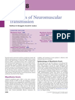 Disorders of Neuromuscular Transmission
