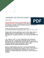 34155062 Manger Les Fruits Avant Les Repas