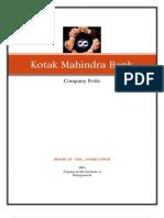Kotak Mahindra Bank PART 2