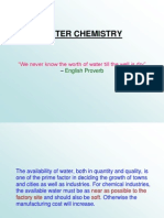 Water Chemistry 01