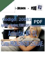 2002 – 20E03 PROBLEMAS DE LENGUAJE