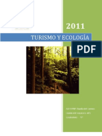 TURISMO Y ECOLOGÍA