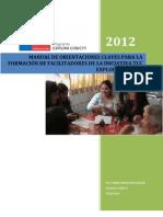 Cr2012-Manual Para La Formacion de Facilitadores Tcc