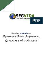 Apresentação SEGVIDA Consultoria