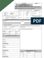 Formato Licencia de Construccion