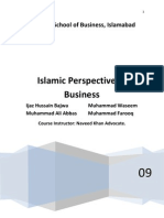 Islamic Business Law, Report