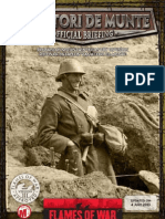 OB Romanian Mountain Infantry