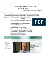 Stochastic Processes --Theory for Applications by Robert g. Gallager