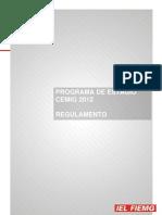 Estágio REGULAMENTO PROGRAMA DE ESTÁGIO CEMIG 2012.pdf