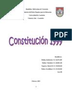 Trabajo de Constitucional, Constitucion de 1999