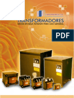 Catalogo de Transformadores