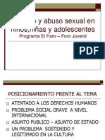 2- Maltrato y Abuso Sexual