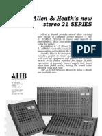 Allen Heath 21 Series